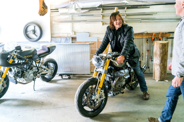 Norman Reedus in 'The Ride With Norman Reedus' (Photo: Mark Schafer/AMC)