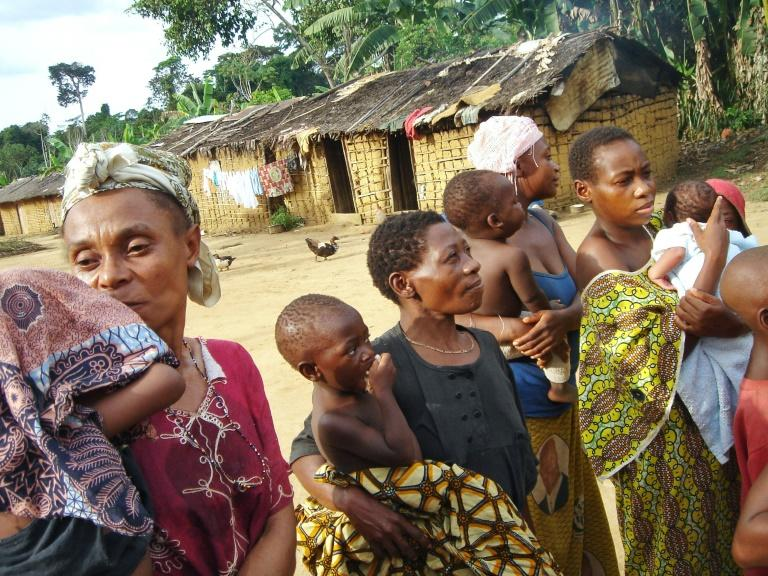 The Baka Pygmy people struggle to have a legal existence in Gabon, without identity cards, and want the same rights as other citizens