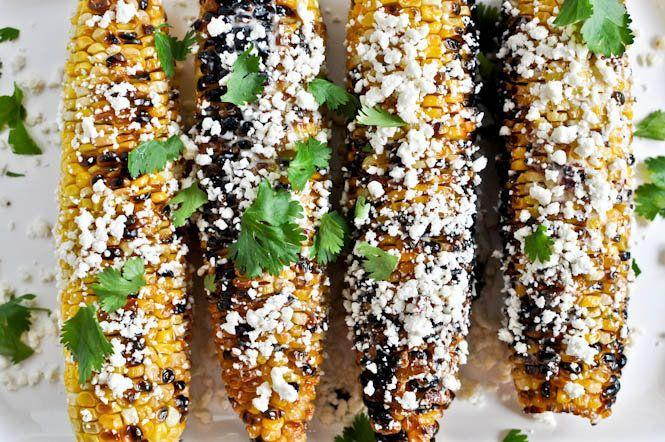 "<strong>Get the <a href=""http://www.howsweeteats.com/2011/07/grilled-corn-with-bacon-butter-and-cotija-cheese/"" target=""_blank"">Grilled Corn with Bacon Butter and Cotija Cheese recipe</a> from How Sweet It Is</strong>"