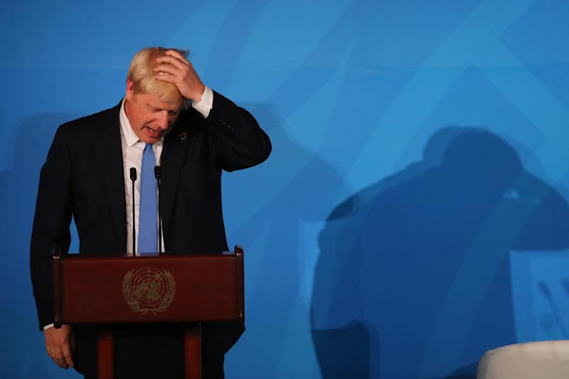 Prime minister Boris Johnson is facing calls to resign after losing a Supreme Court ruling (Picture: Getty)