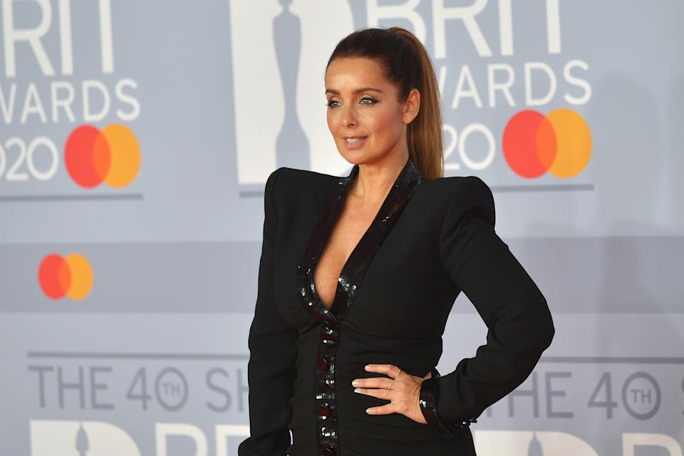 LONDON, ENGLAND - FEBRUARY 18: (EDITORIAL USE ONLY)  Louise Redknapp attends The BRIT Awards 2020 at The O2 Arena on February 18, 2020 in London, England. (Photo by Jim Dyson/Redferns)