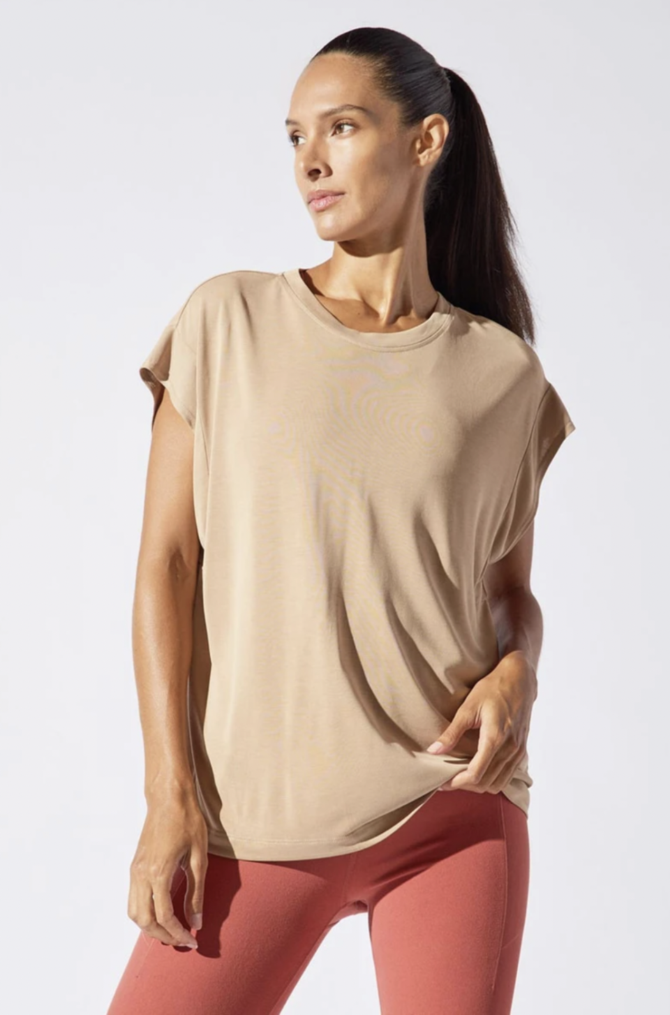 Charge Natural Modal Oversized Tee (Photo via MPG Sport)