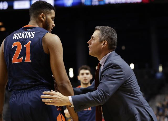 Virginia's matchup against Duke will be fascinating contrast of styles. (AP Photo/Frank Franklin II, File)