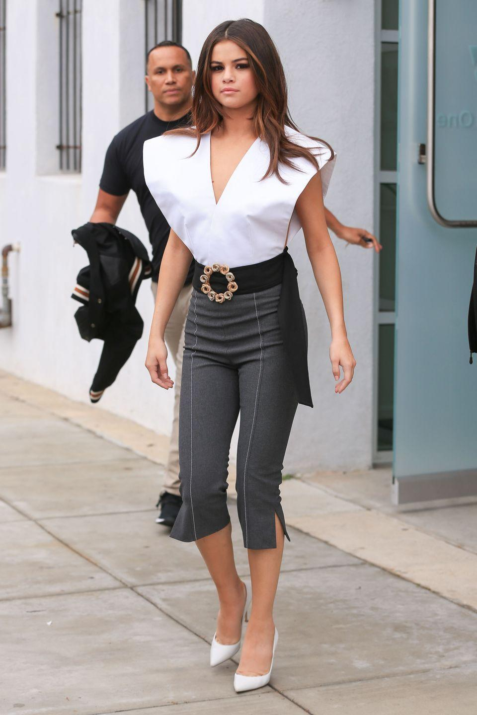 "<p>Out in Los Angeles promoting ""Bad Liar"".</p>"