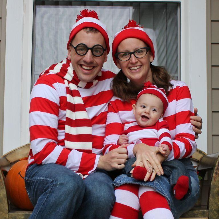 """<p>You probably already have a white and red Christmas sweater lying around, so all you need are red and white beanies and a onesie for the little one.</p><p><em><a href=""""http://www.thehomesihavemade.com/2011/10/wheres-baby-waldo.html"""" rel=""""nofollow noopener"""" target=""""_blank"""" data-ylk=""""slk:See more at The Homes I Have Made »"""" class=""""link rapid-noclick-resp"""">See more at The Homes I Have Made »</a></em></p>"""