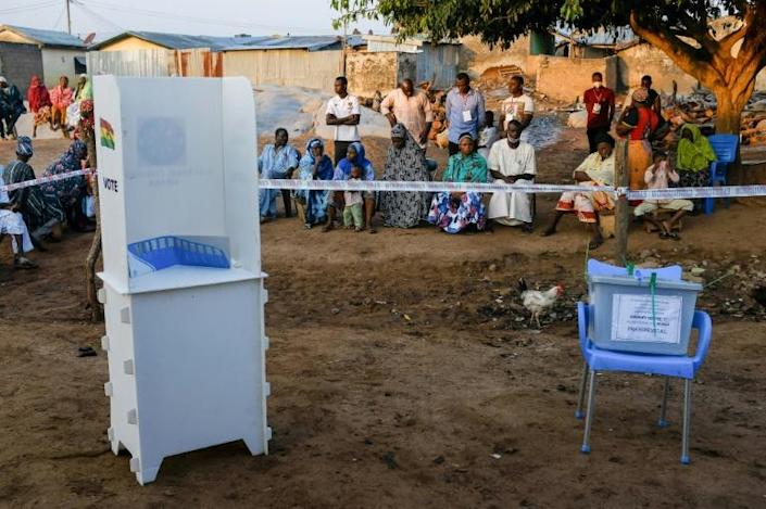 Around 17 million people are eligible to vote to cast ballots for a new president and members of parliament for 275 seats