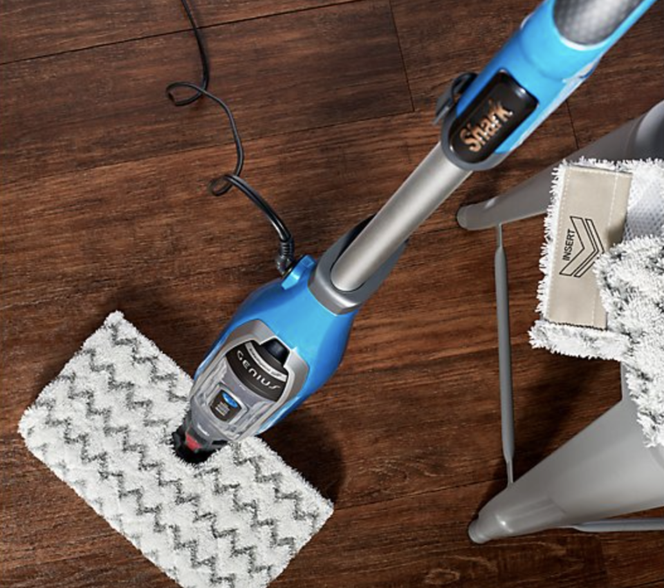 Wood we lie to you? The Shark makes any kind of surface squeaky clean! (Photo: QVC)