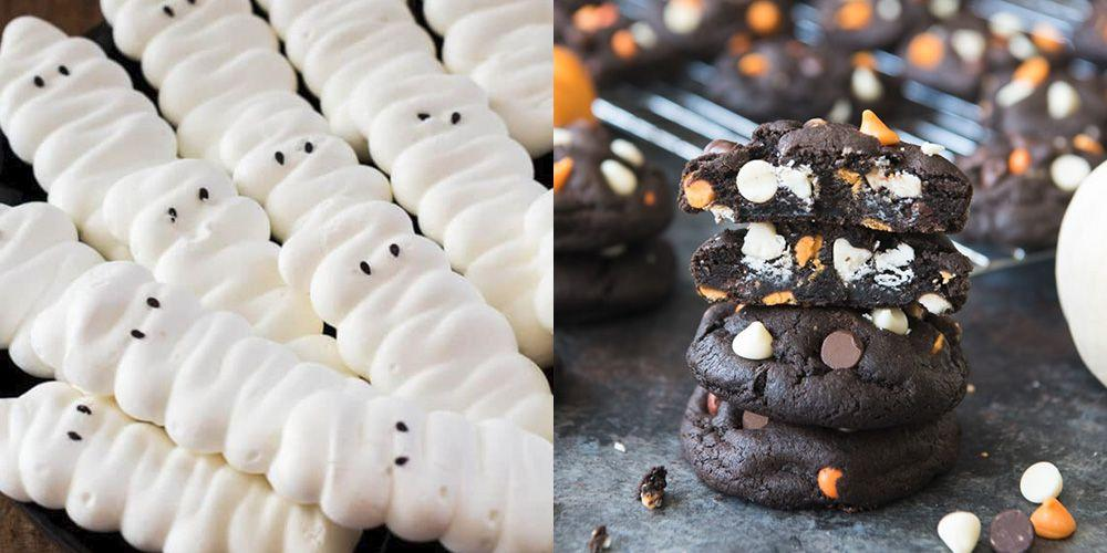 "<p>One of the best ways to <a rel=""nofollow"" href=""https://www.womansday.com/halloween/"">celebrate Halloween</a> is by baking festive cookies to celebrate the holiday. Get creative with <a rel=""nofollow"" href=""http://www.womansday.com/food-recipes/food-drinks/g2586/halloween-desserts/"">your dessert spread</a> with the help of these creative and creepy treats  -  just don't be surprised when they vanish from the  <a rel=""nofollow"" href=""https://www.womansday.com/food-recipes/cooking-tips/g3045/no-bake-cookies/"">cookie jar</a> like a ghost.</p>"