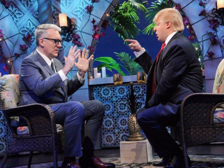 Keith Olbermann on Comedy Central's 'The President Show'