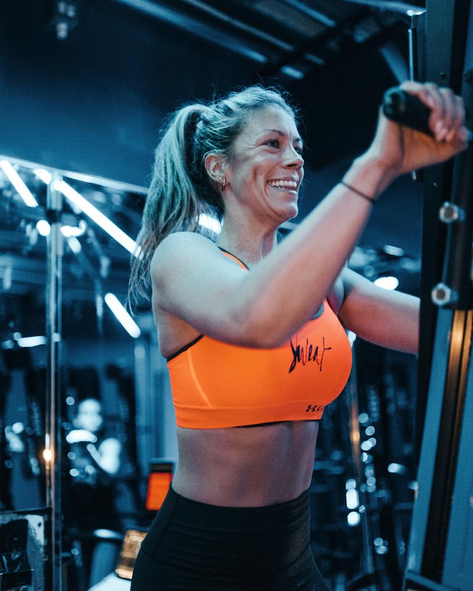 <p>Take on the Versaclimber at Sweat by BXR</p>