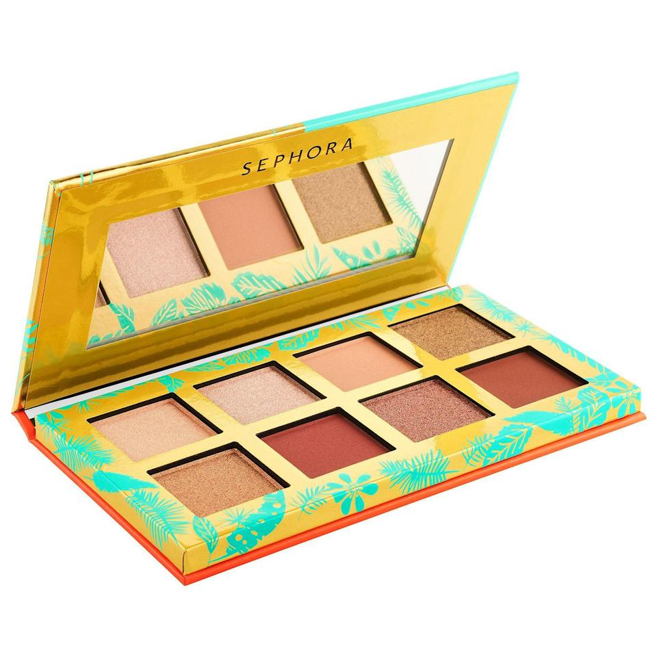 """<p><strong>SEPHORA COLLECTION</strong></p><p>sephora.com</p><p><strong>$10.00</strong></p><p><a href=""""https://go.redirectingat.com?id=74968X1596630&url=https%3A%2F%2Fwww.sephora.com%2Fproduct%2Fsephora-collection-animal-eyes-eyeshadow-palette-P461492&sref=https%3A%2F%2Fwww.redbookmag.com%2Ffashion%2Fg34822878%2Fstocking-stuffers-for-her%2F"""" rel=""""nofollow noopener"""" target=""""_blank"""" data-ylk=""""slk:Shop Now"""" class=""""link rapid-noclick-resp"""">Shop Now</a></p><p>Makeup lovers will love this eight-pan mini eyeshadow palette with wearable pops of color in matte, shimmer, and metallic finishes. This small but mighty palette is perfect for daily use and even comes with a mirror for on the go application. </p>"""