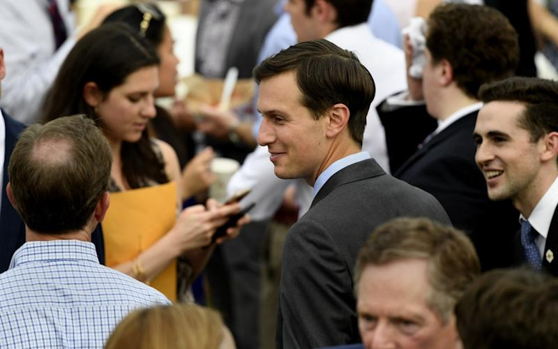 Jared Kushner is in the firing line over his contacts with foreign agents during the campaign - Barcroft Media