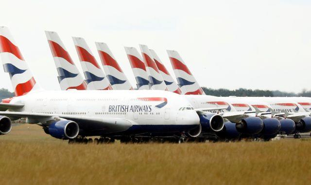 Coronavirus: British Airways eyes deal with unions as it fights to survive