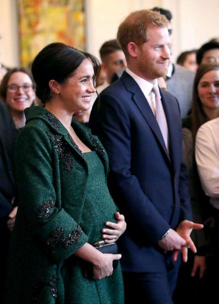 PHOTO: Meghan, Duchess of Sussex and Prince Harry, Duke of Sussex watch a musical performance as they attend a Commonwealth Day Youth Event at Canada House, March 11, 2019, in London, England. (Chris Jackson/Getty Images, FILE)