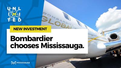 City of Mississauga Welcomes new Bombardier Global Manufacturing Centre (CNW Group/City of Mississauga)