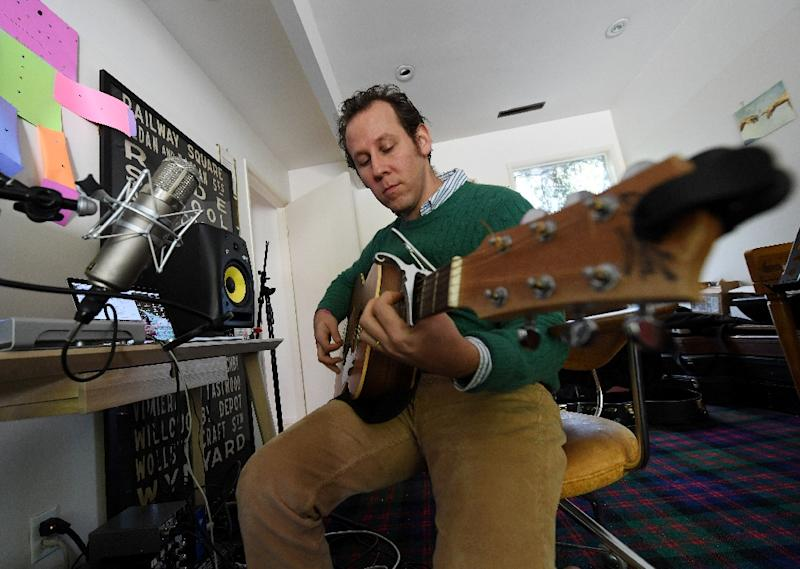 Lee, who has collaborated with leading alternative rockers including Liz Phair and Dinosaur Jr.'s Lou Barlow, in 2013 put out an album on his experiences with ayahuasca, the psychedelic brew from Amazonian shamans (AFP Photo/Mark RALSTON)