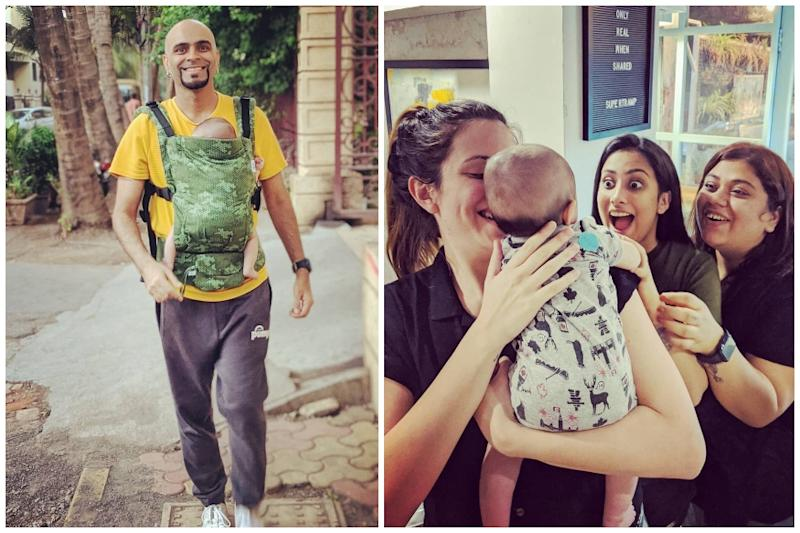 Roadies' Raghu Ram Takes Son for Baby's Day Out, Here's What Happened