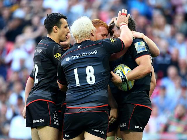 Saracens blew away their great London rivals (Getty)