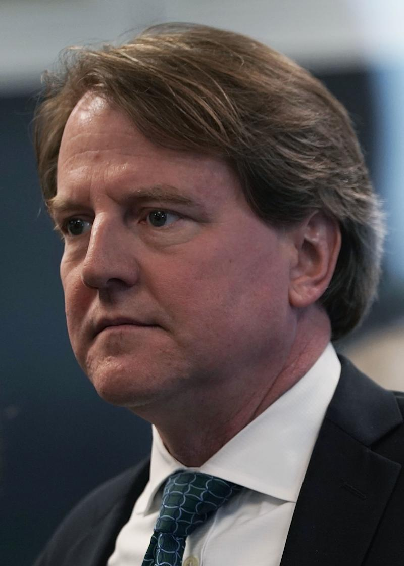 McGahn's extensive cooperation with Robert Mueller's investigation raised speculation that he was trying to protect himself. (Alex Wong via Getty Images)