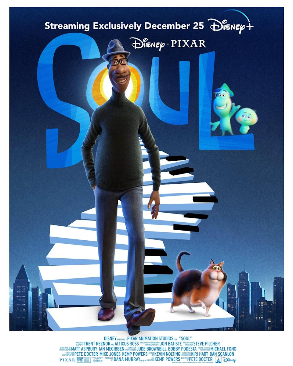 The new poster for Pixar's Soul. (Disney)