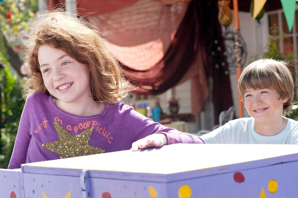 """<p><strong>HBO Max's Description:</strong> """"Judy Moody is ready for the ultimate summer...until her parents jet off leaving her and her brother Stink in the care of their wacky Aunt Opal. But what sets up as a bummer of a summer turns out to be a stunner when Opal lets them undertake a dare-filled thrill race they will never forget. """"</p> <p><a href=""""https://play.hbomax.com/feature/urn:hbo:feature:GXdccGgpjqsPCwwEAACtm"""" class=""""link rapid-noclick-resp"""" rel=""""nofollow noopener"""" target=""""_blank"""" data-ylk=""""slk:Watch Judy Moody and the Not Bummer Summer on HBO Max here!"""">Watch <strong>Judy Moody and the Not Bummer Summer</strong> on HBO Max here!</a></p>"""