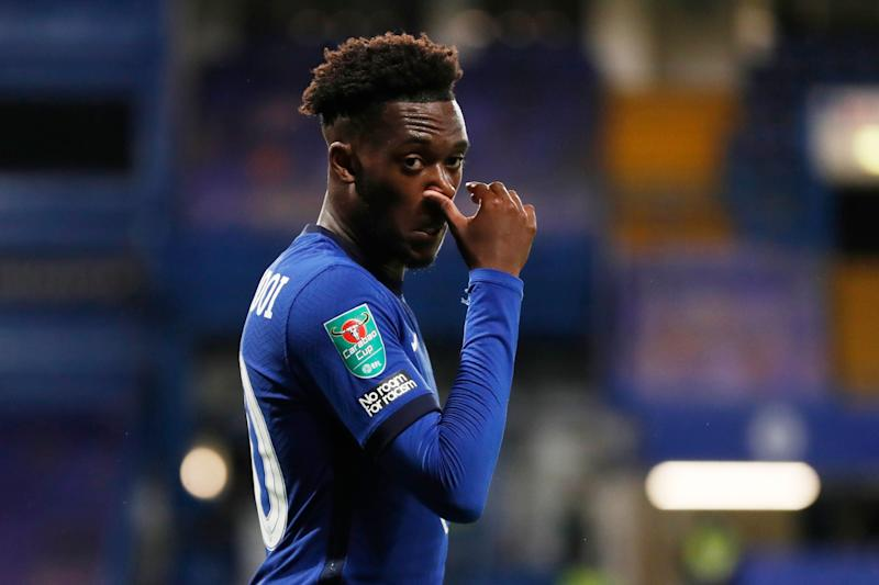 Callum Hudson-Odoi is set to depart Stamford Bridge (Pool via REUTERS)