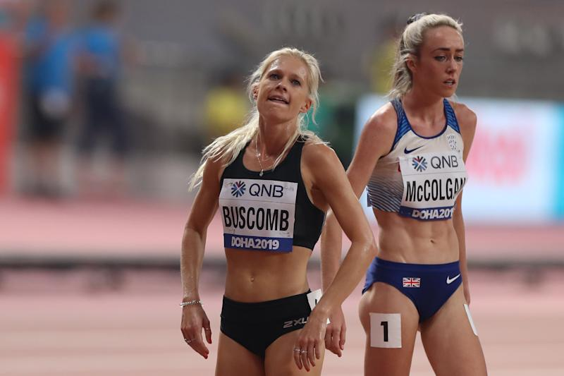 McColgan thinks that the success of Katarina Johnson-Thompson and Dina Asher-Smith is down to hard work. (Credit: Getty Images)