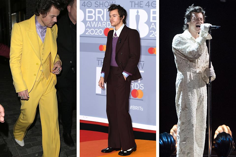 Ladies and gentlemen, Harry Styles has achieved the hallowed TRI-FIT.