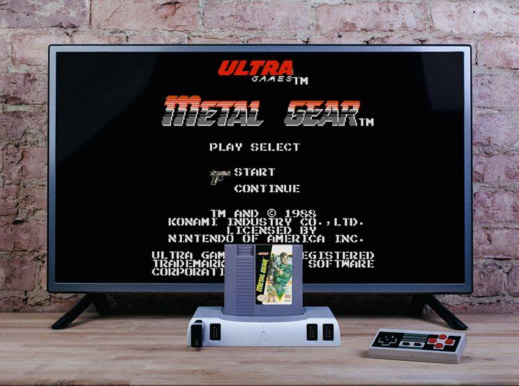 The Analogue Nt mini works on modern HD TVs.