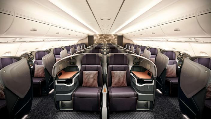 Singapore Airlines drops 'flight to nowhere' idea but will let people eat in an A380 (Courtesy Singapore Airlines)