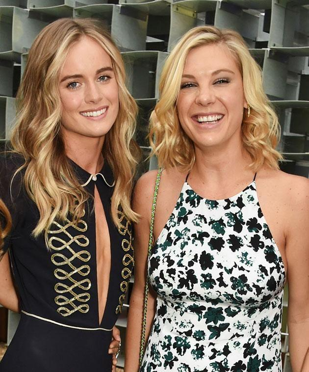Cressida (left) and Chelsy have been spotted at social events together in the past. Photo: Getty