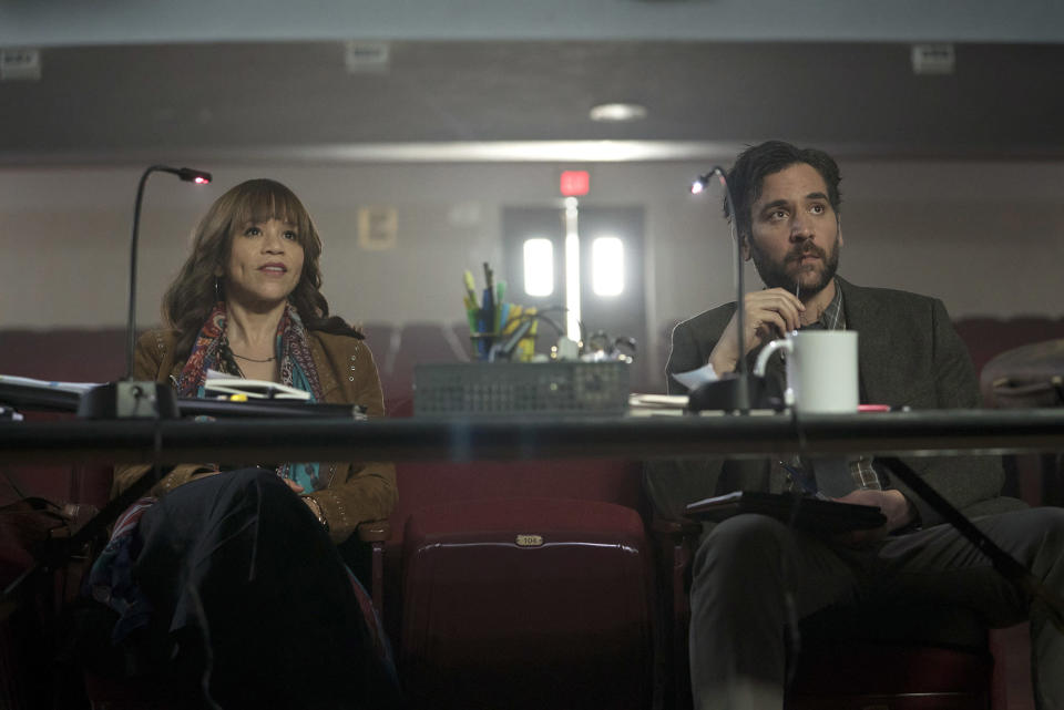 """<p><b>The one-sentence pitch:</b> """"It's the story of a public high school teacher in small-town Pennsylvania who takes over the theater program and affects the lives of the kids and the community in a profound way and, in doing so, also affects his own life,"""" says creator Jason Katims, adding, """"Do you allow run-on sentences?""""<br><br><b>What to expect:</b> Singing! Dancing! Theater! <i>How I Met Your Mother</i>'s Josh Radnor plays Lou Mazzuchelli, an English teacher looking for a burst of artistic inspiration. He finds it when he decides that what the school really needs is a boisterous production of the Tony Award-winning musical<i> Spring Awakening</i>. Much like <i>Glee</i>'s Mr. Schue before him, Mr. Mazzu tries to shake up the typical high school ensemble, casting a shrinking violet (<i>Moana</i>'s Auli'i Cravalho) and the resident football star (Damon J. Gillespie) as the two leads. """"I used to play football,"""" says Gillespie. """"It got to the point where I had to make a choice, and I ended up doing theater.""""<br><br><b>Broadway bound: </b>While the young theater aficionados in <i>Rise</i> will croon songs from <em>Spring Awakening</em> in Season 1, Gillespie already has a special request for Season 2's choice of show. """"I have a very, very deep love for <i>Next to Normal</i>,"""" says the actor, who has previously tread the boards in <i>Newsies</i> and <i>Aladdin</i>. """"I would be extremely happy, and probably cry every day I came to work."""" <i>— EA</i><br><br>(Photo: Peter Kramer/NBC) </p>"""