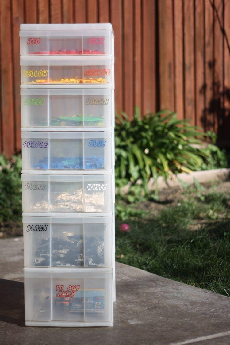 """<p>This one's for your Type-A, Virgo child. Since scrapbook shelves are clear, it's easy for kids to find exactly the piece they need to complete their LEGO masterpiece. </p><p><a href=""""http://youputiton.com/the-best-lego-storage-system/"""" rel=""""nofollow noopener"""" target=""""_blank"""" data-ylk=""""slk:See more at You Put It On »"""" class=""""link rapid-noclick-resp""""><em>See more at You Put It On »</em></a></p>"""