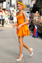 <p>This tangerine-toned Carolina Herrera mini dress, complete with a matching headband, worn by Zendaya for an appearance on The Late Show With Stephen Colbert, will forever live rent-free in my head.</p>