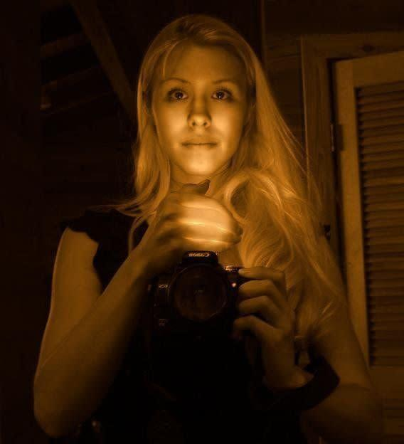An undated photo of Jodi Arias that she posted to her MySpace page.