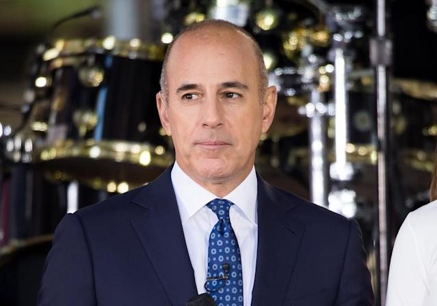 Matt Lauer (Photo: NBC)