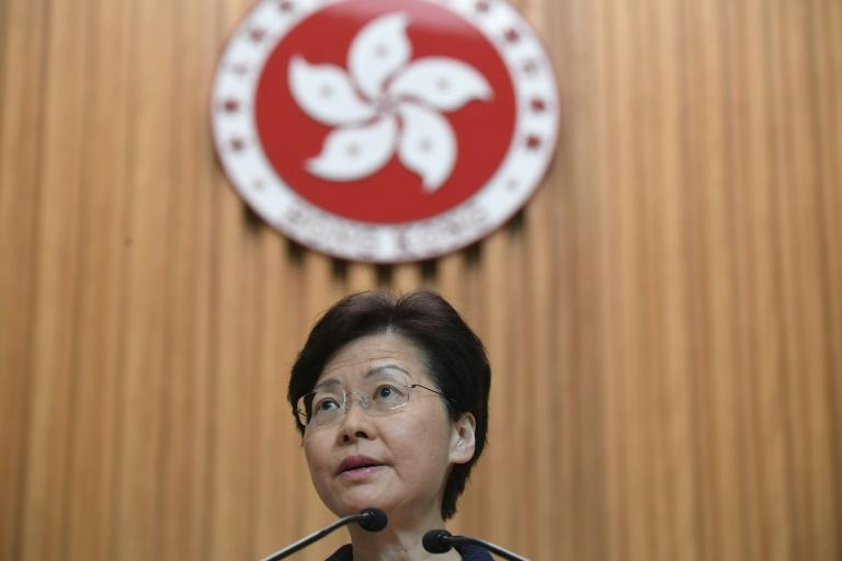 Hong Kong Chief Executive Carrie Lam reported 174 complaints have been made against police since protests began