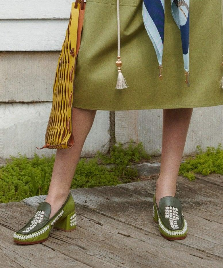 <p>Shoes from the Tory Burch Spring / Summer 2021 collection.</p>