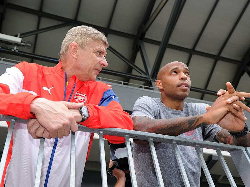 Thierry Henry has refused to rule out the possibility of replacing Arsene Wenger: Getty