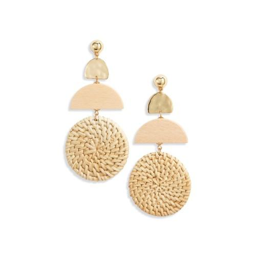 Raffia Drop Earrings. (Photo: Nordstrom)