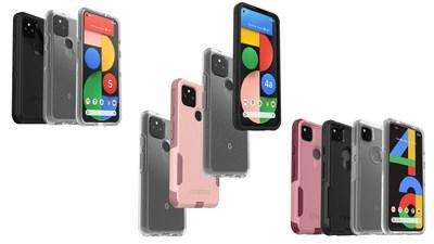 OtterBox keeps you connected to those moments that matter most with Symmetry Series, Defender Series and Commuter Series for Google Pixel 5 and Google Pixel 4a (5G).