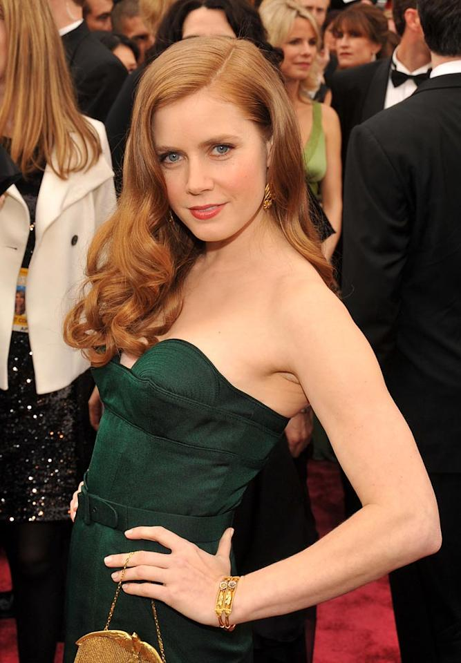 """<a href=""""http://movies.yahoo.com/movie/contributor/1800018895"""">Amy Adams</a> arrives at the 80th Annual Academy Awards in Hollywood - 02/24/2008"""