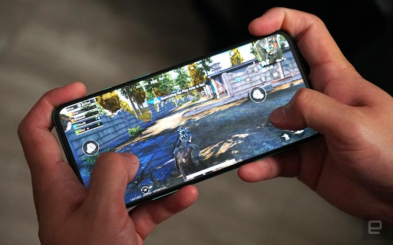 PUBG Mobile on OnePlus 8T
