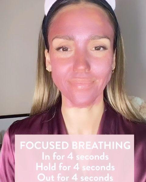 """<p>Jessica shared one of her masked mornings with a side of breathwork to cleanse away the 2020 energy.</p><p><a href=""""https://www.instagram.com/p/CJU64gNF4ZT/?igshid=50jgffx314ui"""" rel=""""nofollow noopener"""" target=""""_blank"""" data-ylk=""""slk:See the original post on Instagram"""" class=""""link rapid-noclick-resp"""">See the original post on Instagram</a></p>"""