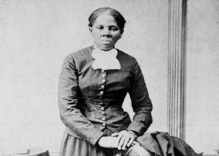 """Anti-slavery crusader Harriet Tubman is seen in a picture from the Library of Congress taken by photographer H.B. Lindsley between 1860 and 1870. <span class=""""copyright"""">Reuters/Library of Congress</span>"""