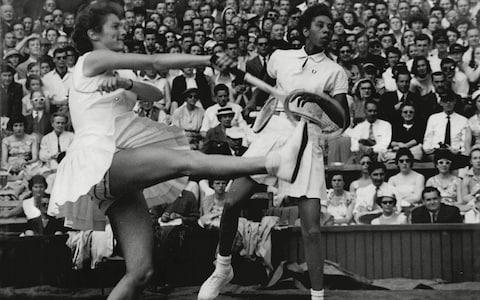 <span>Gibson will be immortalised in August with the unveiling of her statue at the US Open, Buxton will be honoured for her loyal support of Gibson</span> <span>Credit: Rex </span>