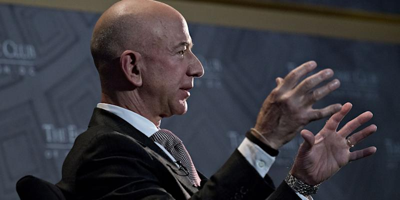 Bezos's Stunning Blackmail Charge Intensifies Proxy War With Trump