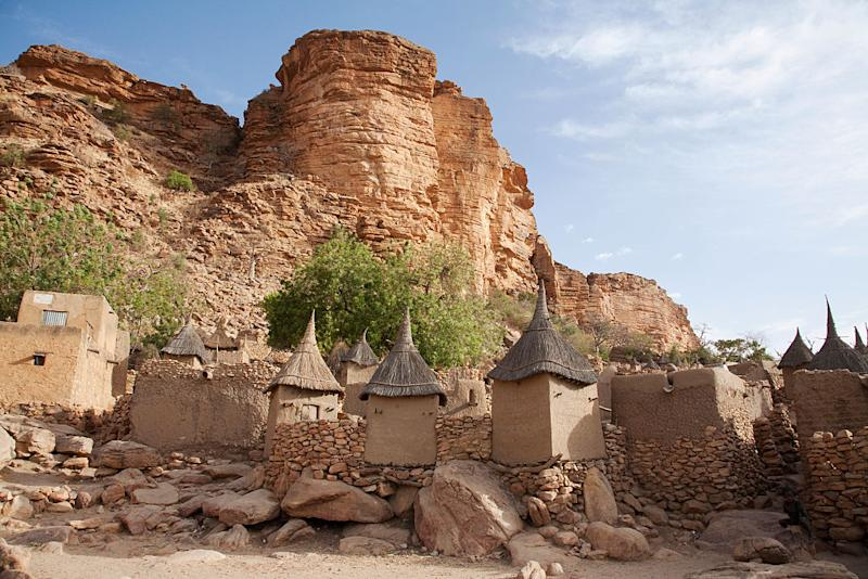 The Bandiagara Escarpment, Mali. | Insights—Universal Images Group via Getty Images