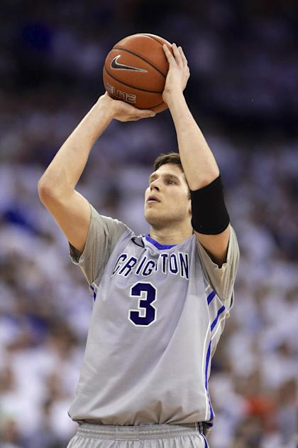 Doug McDermott's lights-out shooting should help provide space for a cramped Bulls offense. (AP/Nati Harnik)