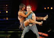 """<p><a href=""""https://www.womenshealthmag.com/life/g29127937/dancing-with-the-stars-cast-members-dated/"""" rel=""""nofollow noopener"""" target=""""_blank"""" data-ylk=""""slk:DWTS showmances"""" class=""""link rapid-noclick-resp""""><em><em>DWTS </em></em>showmances</a> are not a rare occurrence on the show, but the rumors about Cheryl and her married partner, Drew, during season 15 certainly made things awkward on set.</p>"""